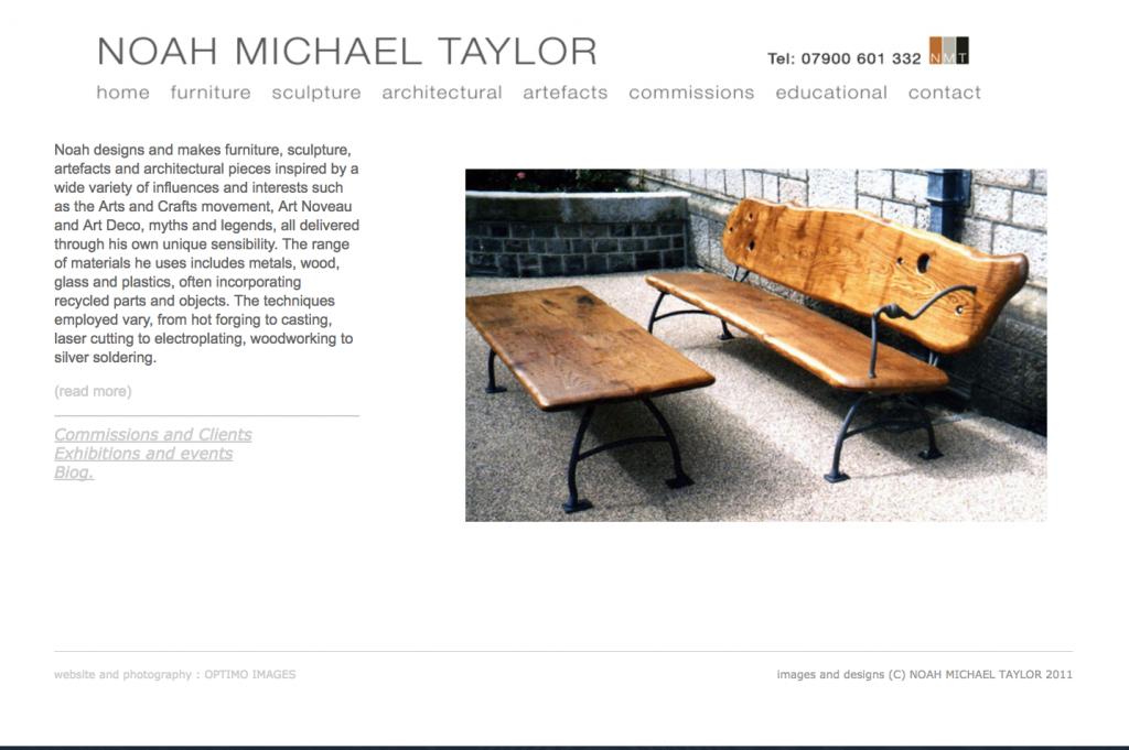 Graphic design and website portfolio